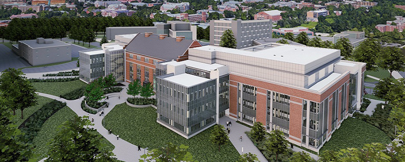 STEM Teaching and Learning Facility rendering