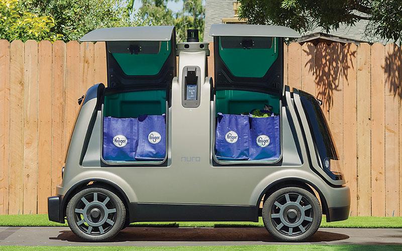 Nuro's self-driving vehicle