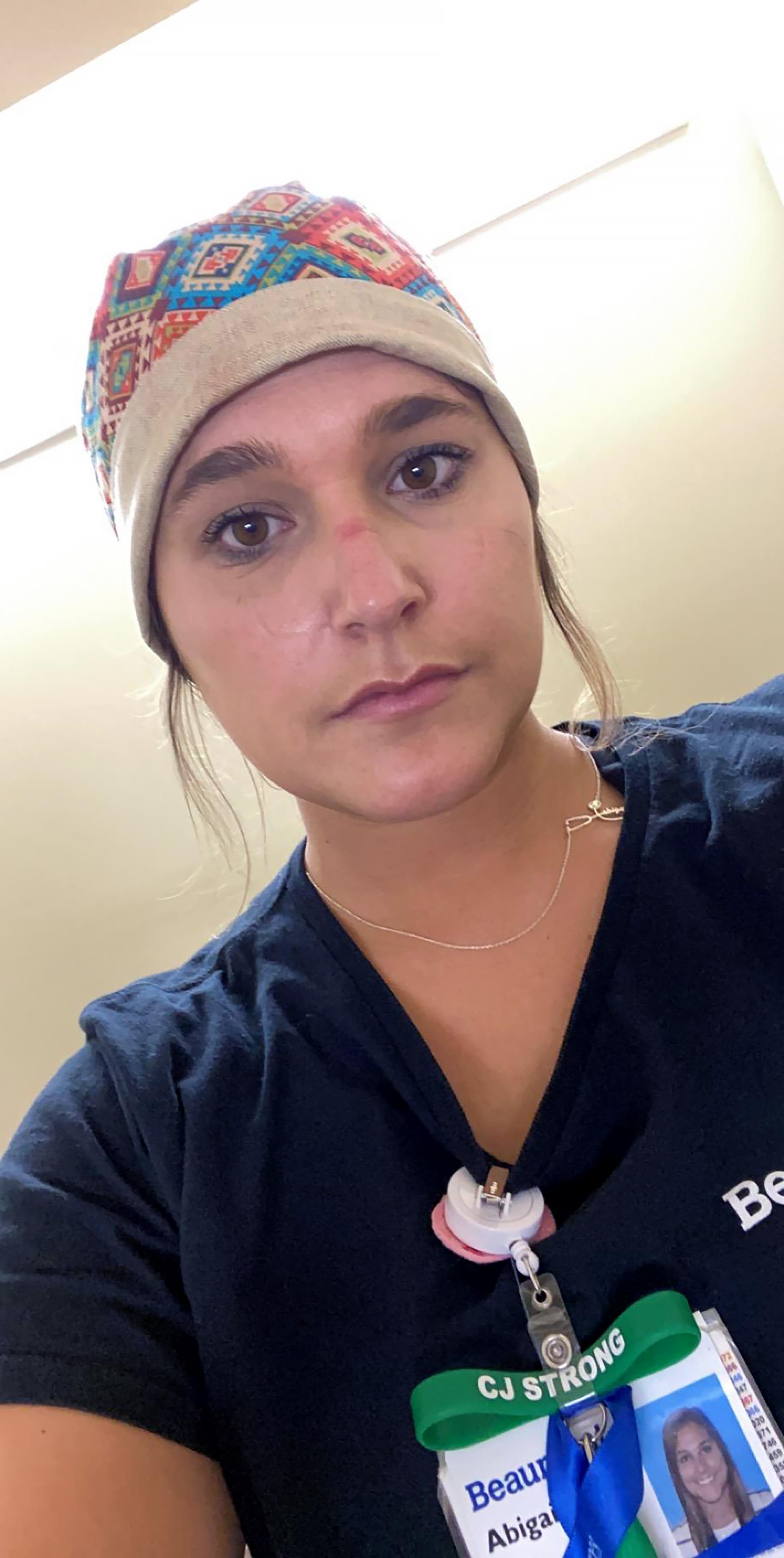 Abby Nowicki, MSU Nurse