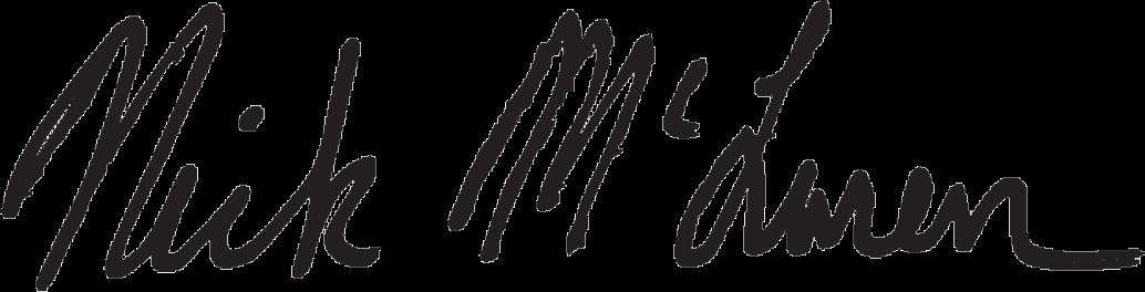 Nick McLaren Signature