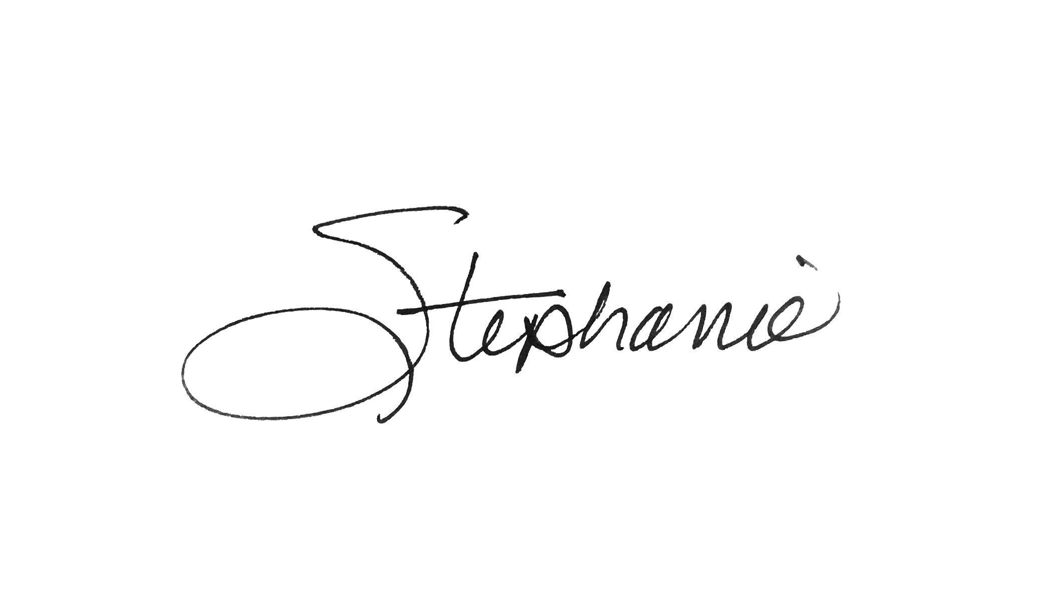 Stephanie Motschenbacher signature