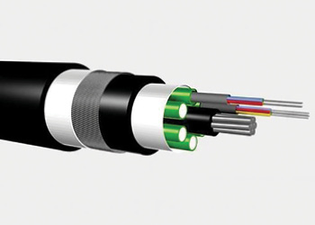 Fiber Optic Wire illustartion