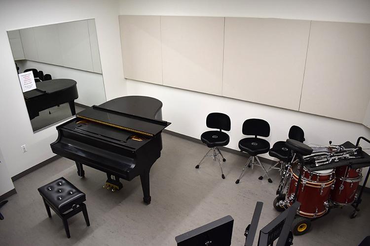 The Kochs's Jazz Combo Practice Room