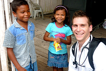 Med Student with Kids in Brazil