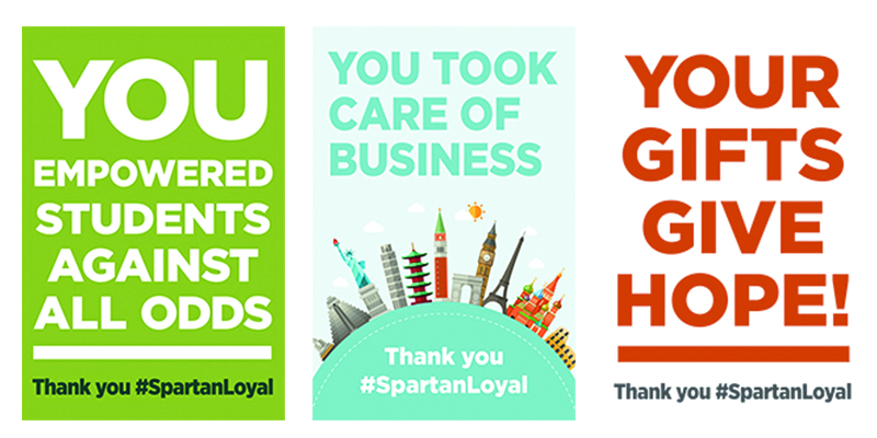 Thank You #SpartanLoyal Banner