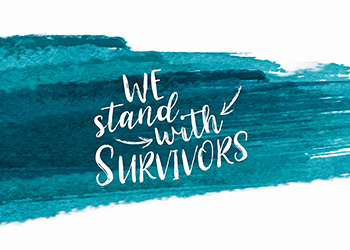 We Stand With Survivors
