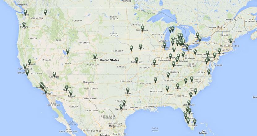 The Best Us Map Globalinterco - Map of us san antonio