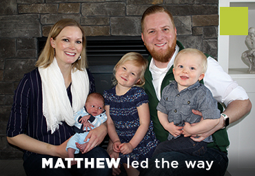 Matthew led the way