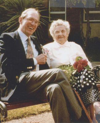 MSU Alumnus Henry O. Timnick and his mother, Ottillie Schroeter Timnick