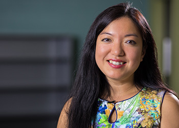Researcher Felicia Wu is interested in how human health is affected by agriculture.