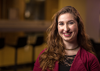 Media and Information student Elise Conklin has had multiple experiential learning opportunities at Michigan State.