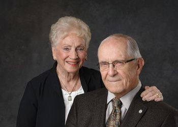 Portrait of Dee and Byron Cook